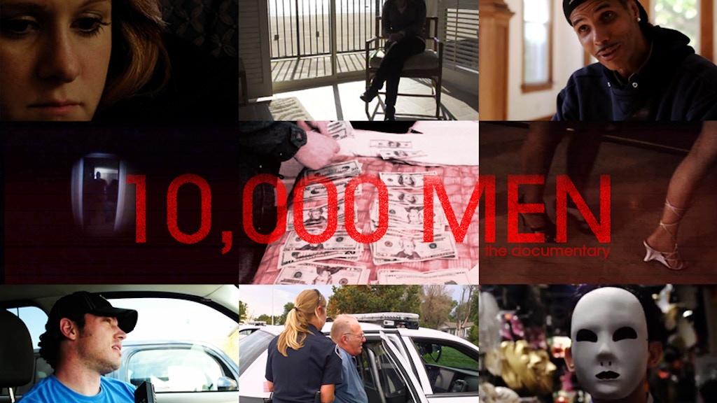 10,000 MEN project video thumbnail