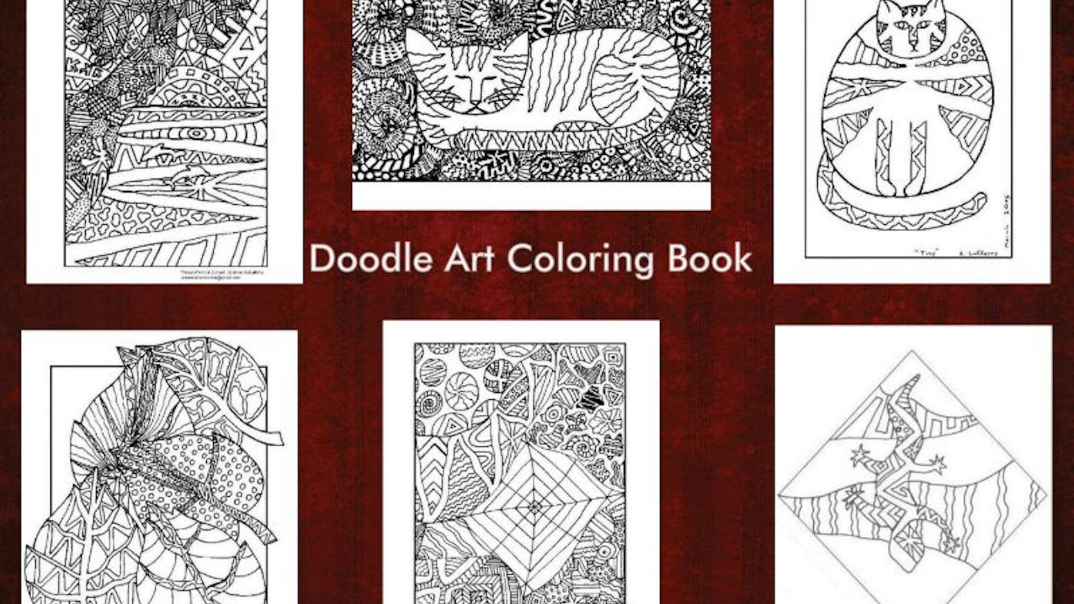 Doodle Art Coloring Book by Amanda the Doodler — Kickstarter