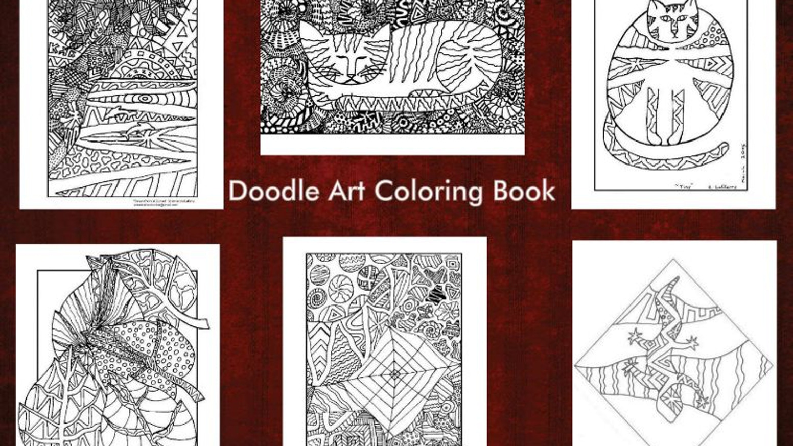 Doodle Art Coloring Book by Amanda the Doodler — Kickstarter