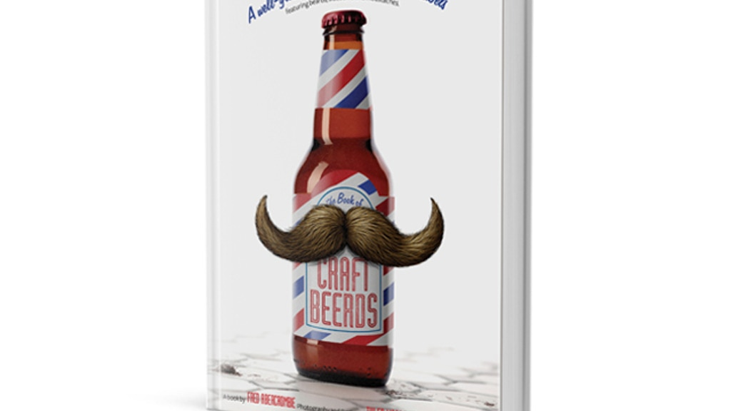 The CRAFT BEERDS book — a hairy collection of beer label art project video thumbnail