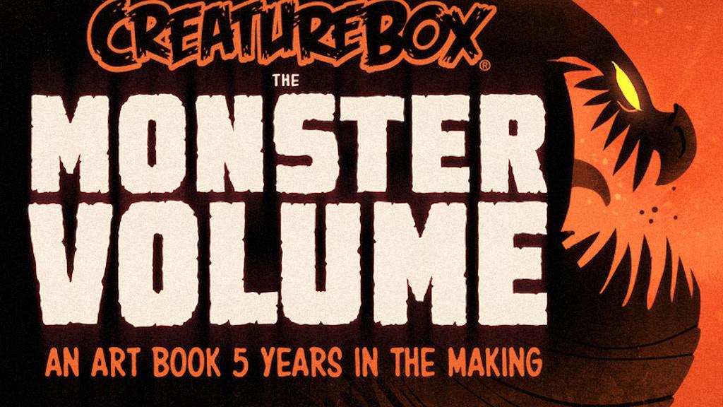 CreatureBox: THE MONSTER VOLUME project video thumbnail
