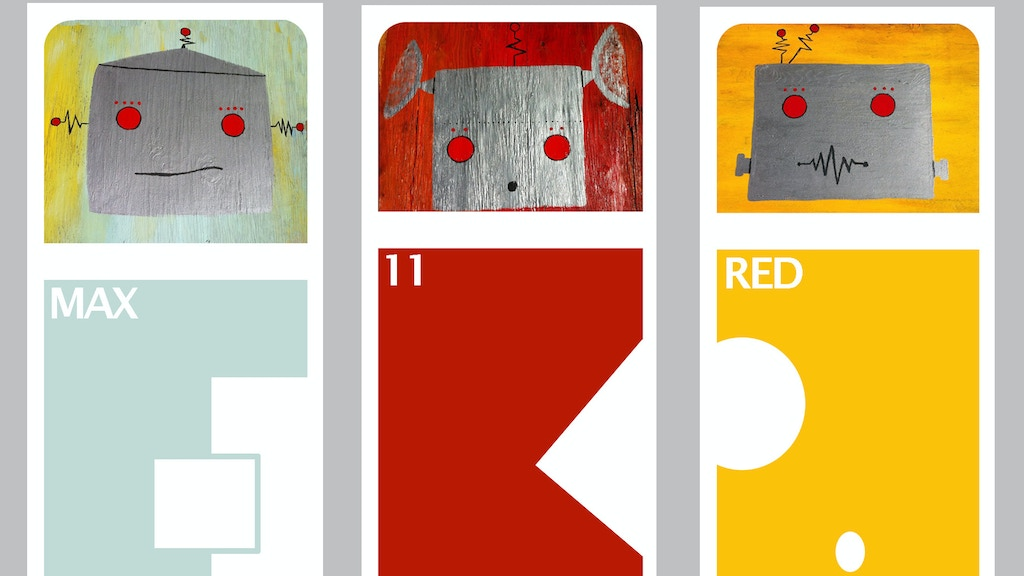 Bot marks for your bot books. Retro robot themed bookmarks. project video thumbnail