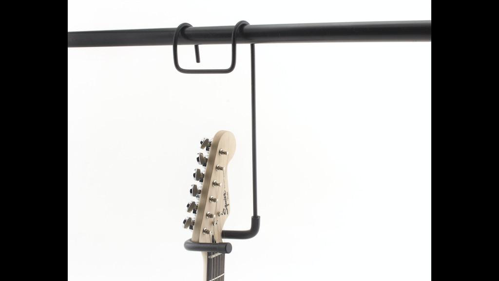 The New Closet Guitar Hanger By Russell Garehan Kickstarter