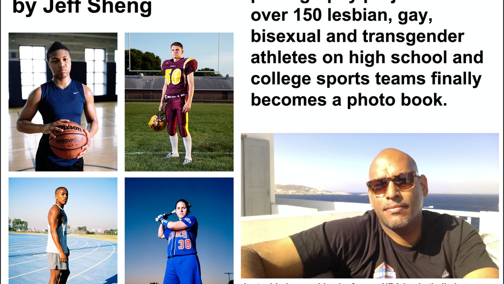 Fearless Project (LGBTQ Student Athletes) Photography Book project video thumbnail