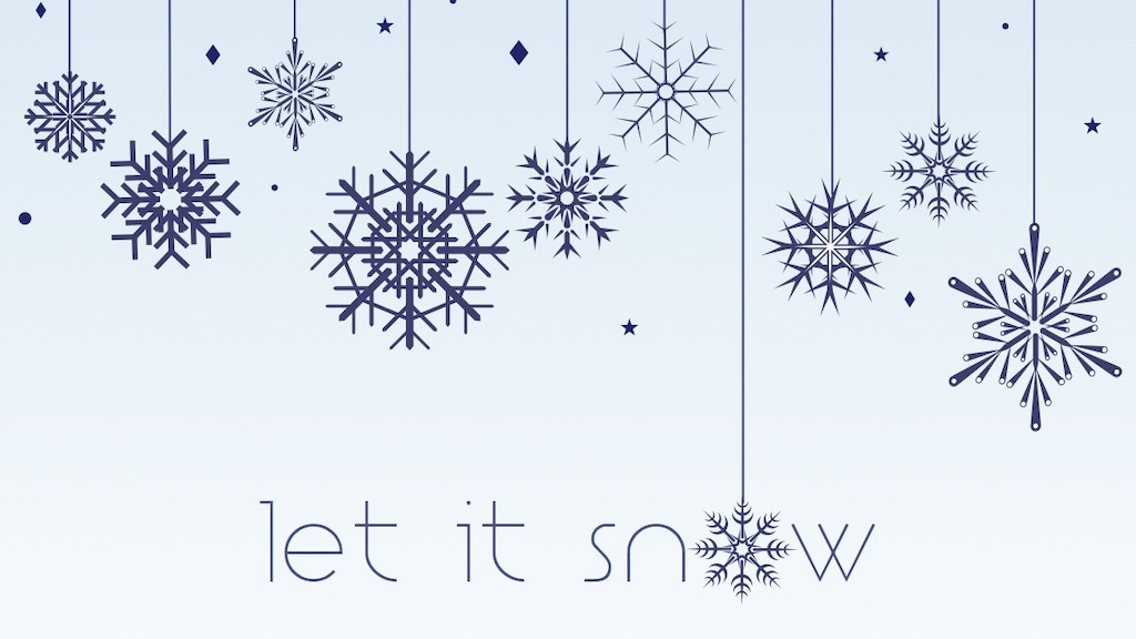 """""""Let It Snow"""" A Christmas Album by Brian Blume project video thumbnail"""