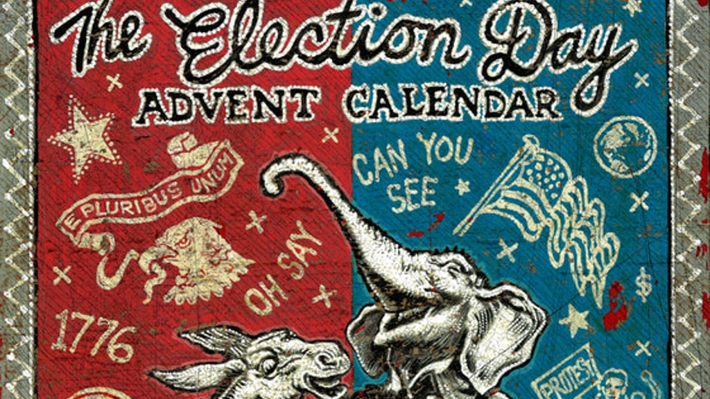 The Election Day Advent Calendar project video thumbnail
