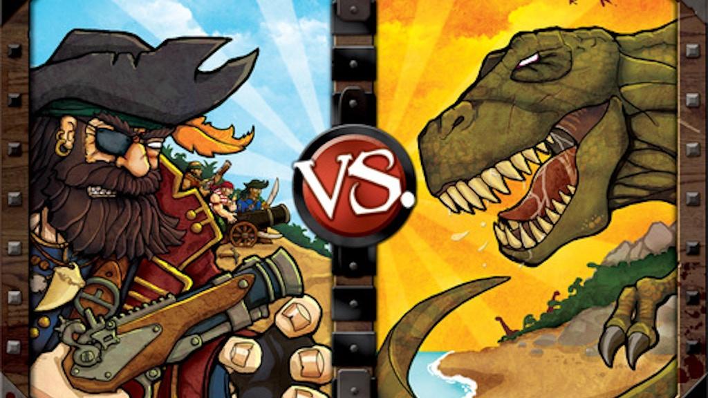 Pirates vs  Dinosaurs by Jolly Roger Games — Kickstarter
