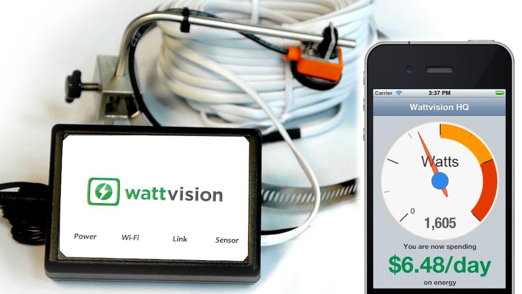 Wattvision - The Smart Energy Sensor project video thumbnail