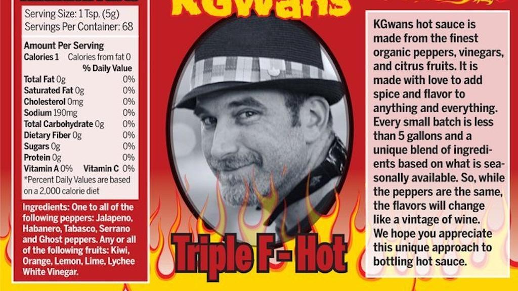 1Xinfin's - KGWans Hot Sauce project video thumbnail