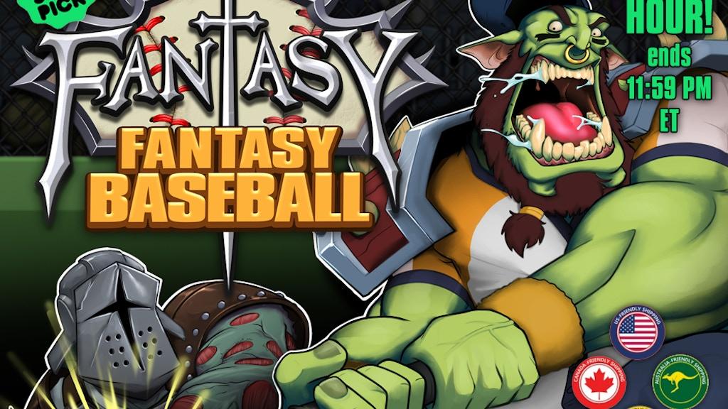 Fantasy Fantasy Baseball: A Roster-Building Card Game project video thumbnail