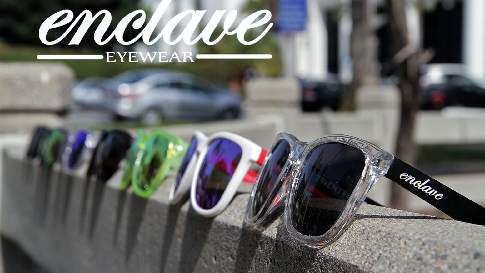 Polarized sunglasses constructed from memory plastic and polycarbonate. Quality materials and classic style.