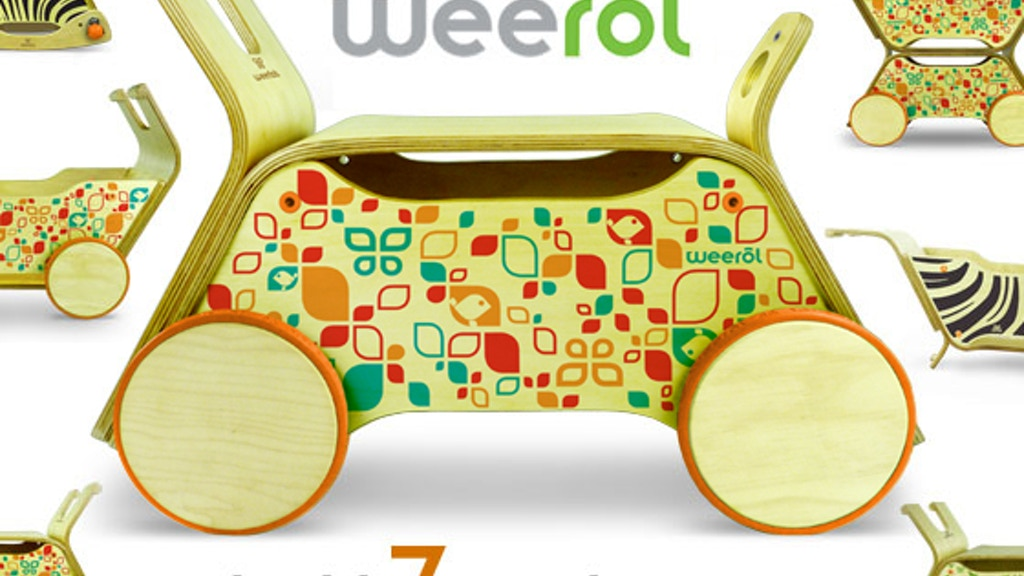 Weerol: The Modern Toy that Grows With Your Child project video thumbnail
