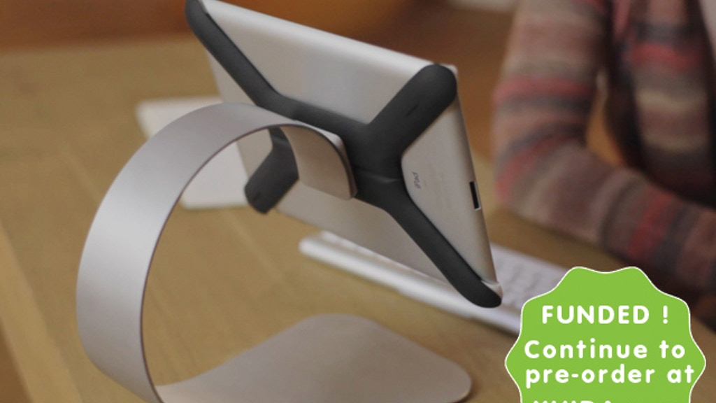 "Boomerang - First ever ""All-in-one iPad Mount & Stand"" project video thumbnail"
