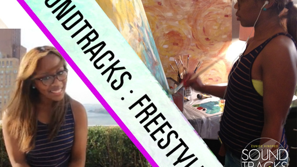 "Eunice Kindred in ""Soundtracks : Freestyle"" solo show project video thumbnail"