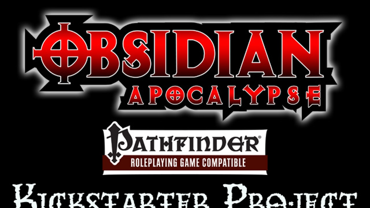The Obsidian Apocalypse is a post-apocalyptic survival horror table top RPG template campaign setting for the Pathfinder RPG.
