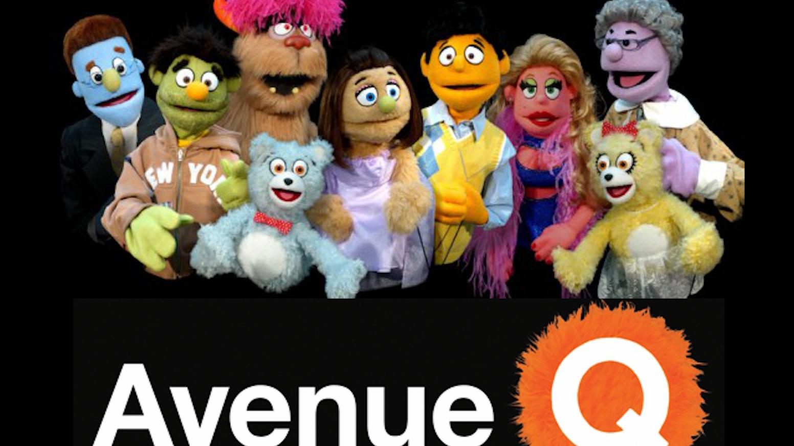 Avenue Q puppet rentals | Music Theatre International