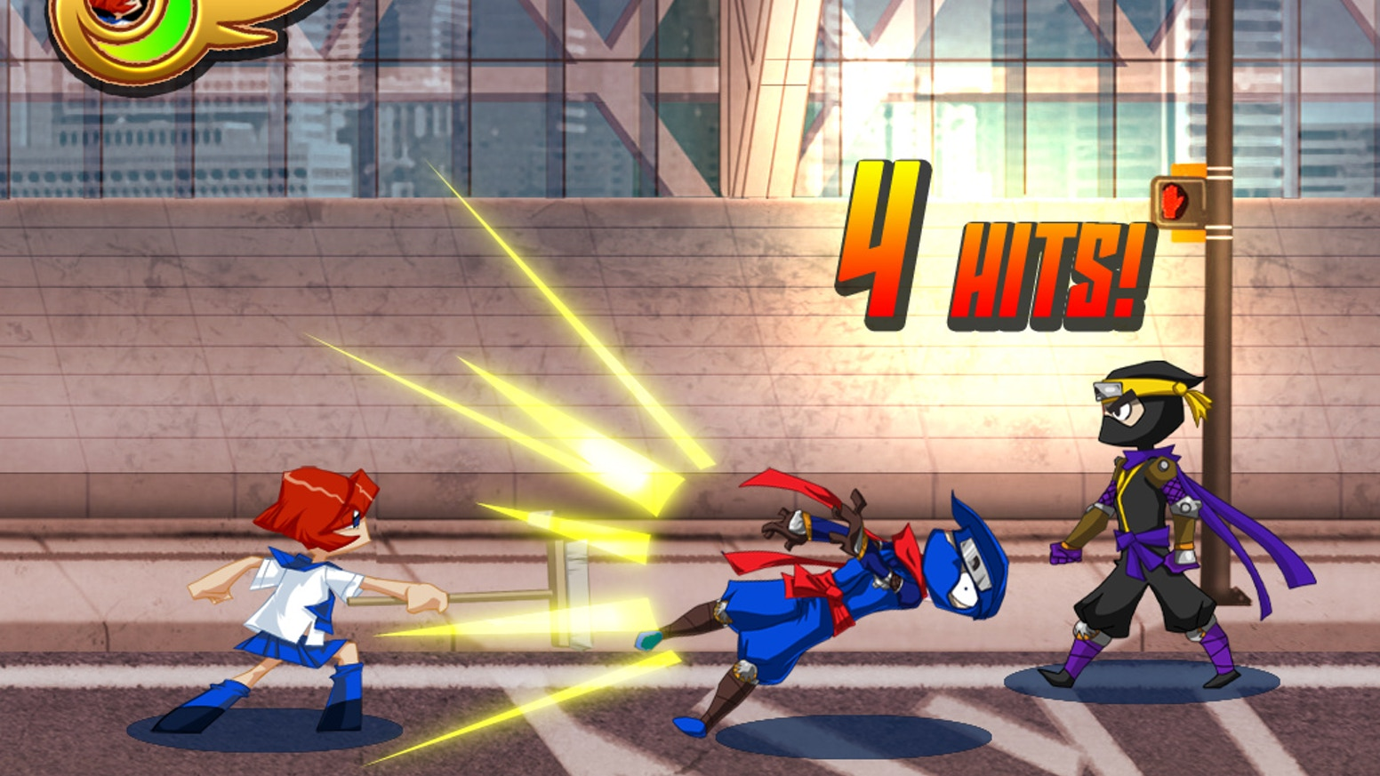 The Official Otakon Super Beat Em' Up Video Game! by Studio