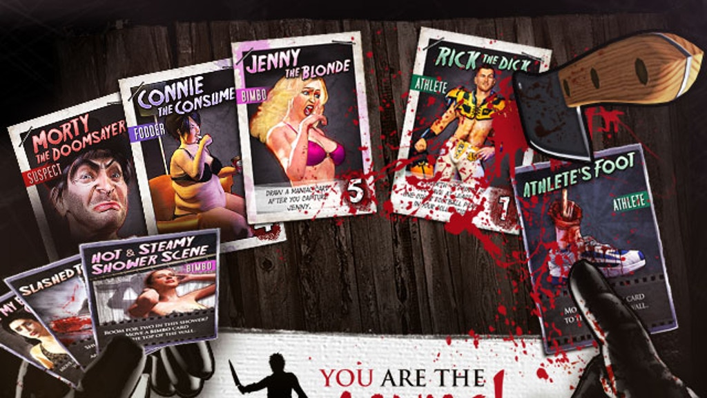 YOU are the Maniac! The Card Game for Horror Fans project video thumbnail