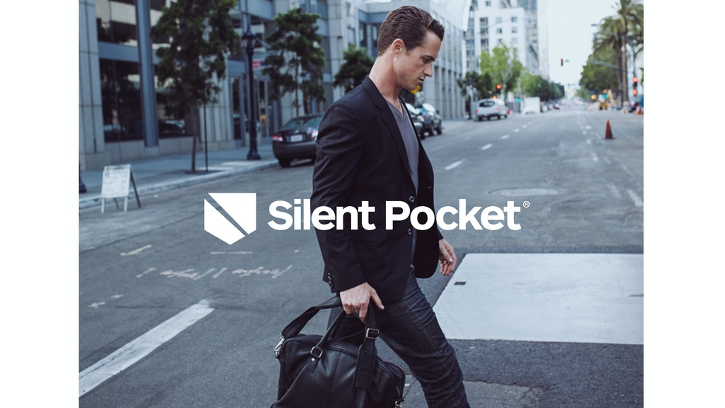 Leather goods that take you off the grid by Silent Pocket project video thumbnail