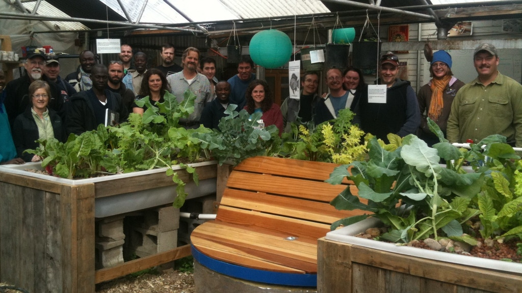 Growing Food, Growing Minds - Commercial Aquaponics project video thumbnail