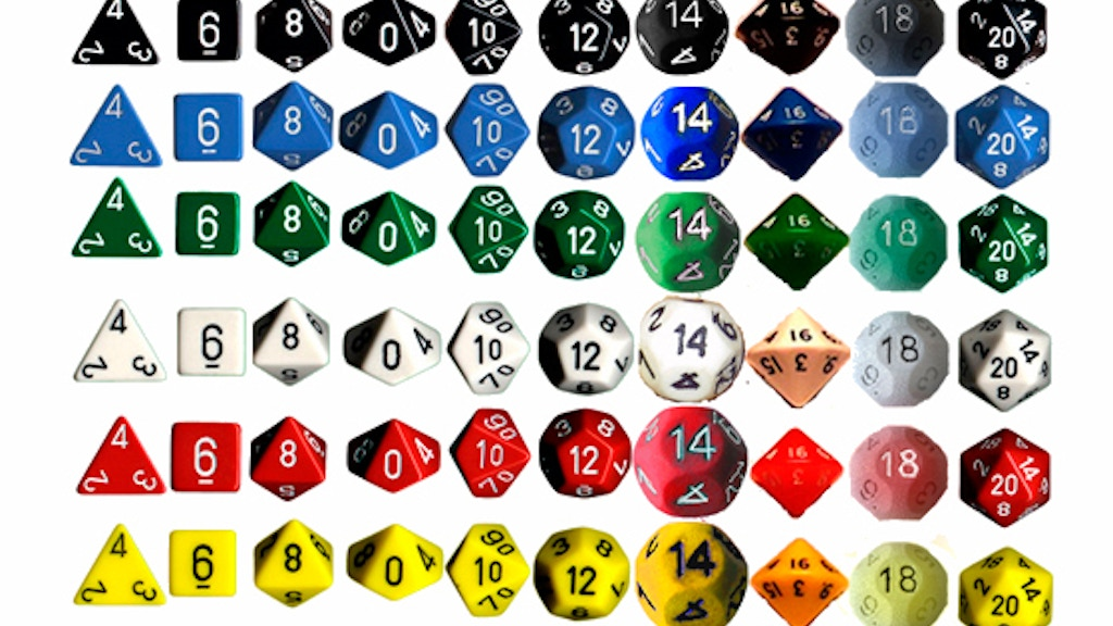 Spherical D14 and D18 - the missing even-sided Game Dice project video thumbnail
