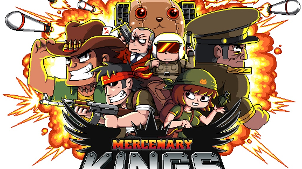Mercenary Kings project video thumbnail