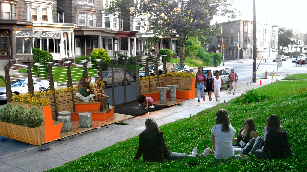 Philly Auto Group >> Let's Build the Logan Parklet! by Logan CDC — Kickstarter