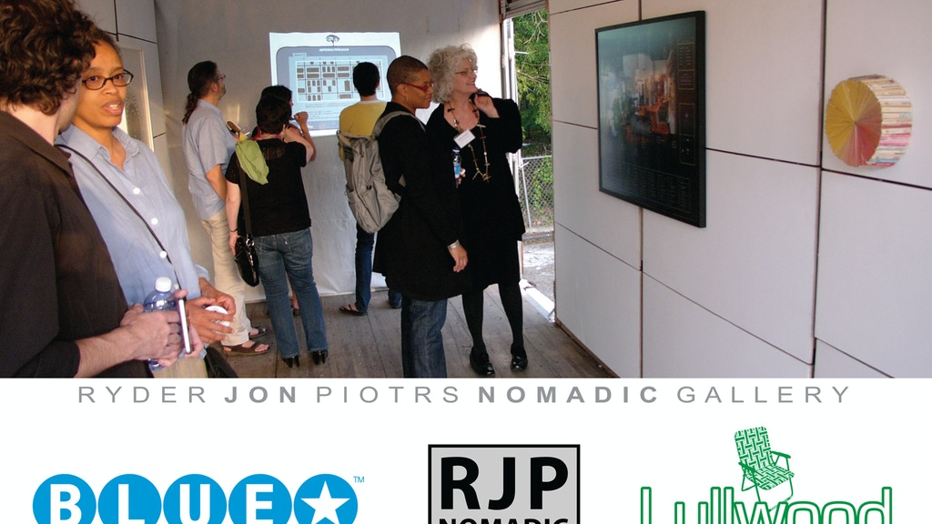 Bring RJP Nomadic Gallery to San Antonio project video thumbnail