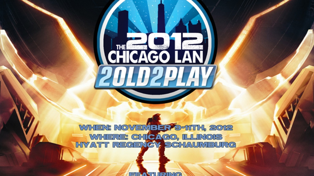 The 2old2play 2012 Chicago Lan Halo 4 Release Party project video thumbnail
