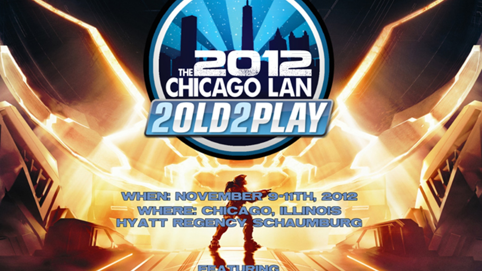 The 2old2play 2012 Chicago Lan Halo 4 Release Party by Joel Albert