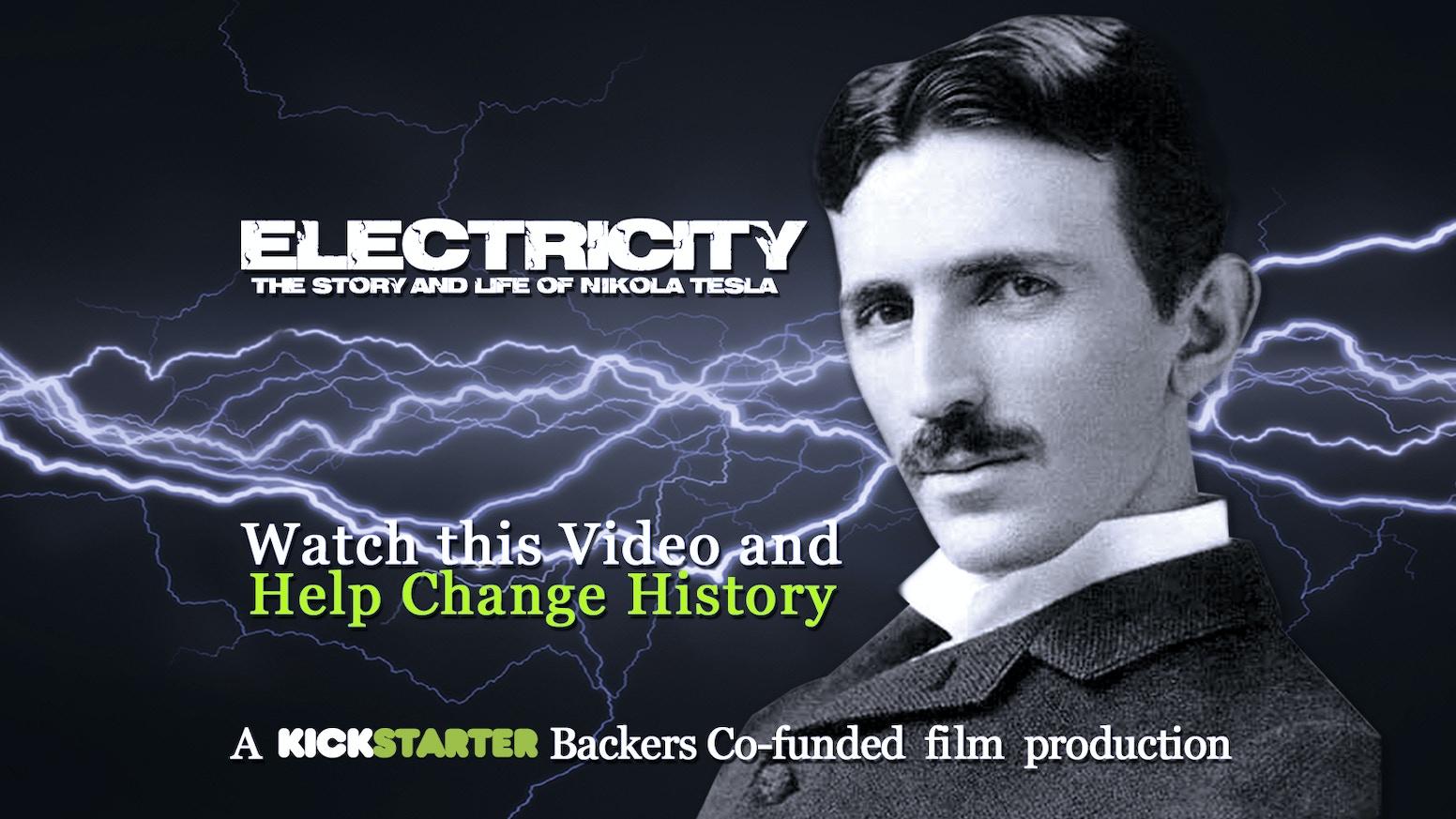 Electricity The Life Story Of Nikola Tesla By Wil Cashen Kickstarter