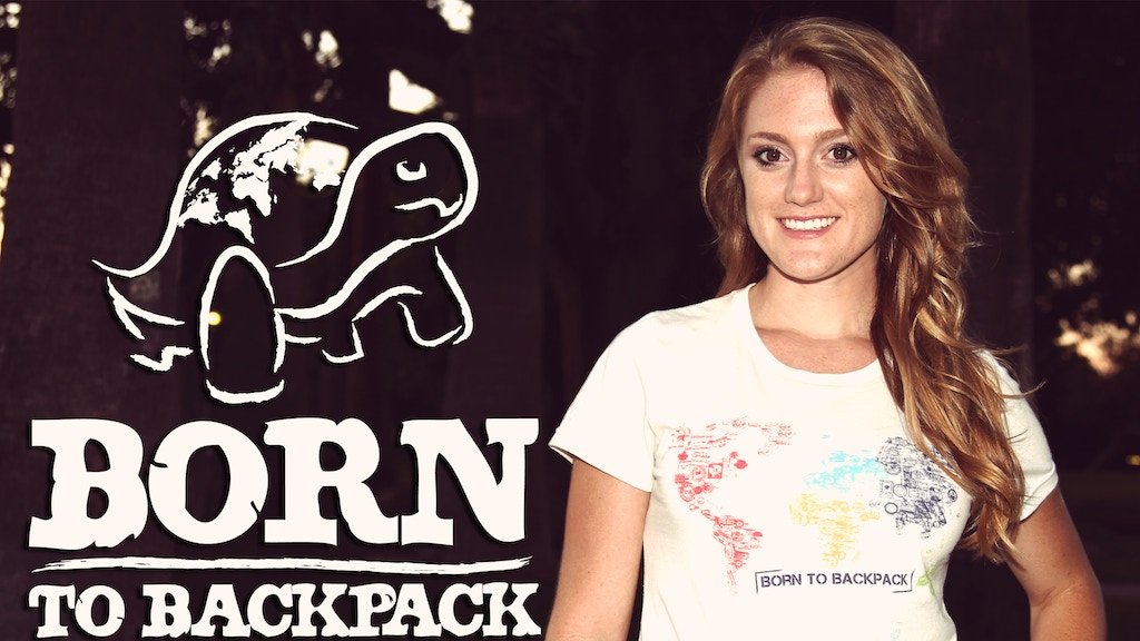 Born To Backpack: Eco-Friendly Tees for Modern Day Explorers project video thumbnail