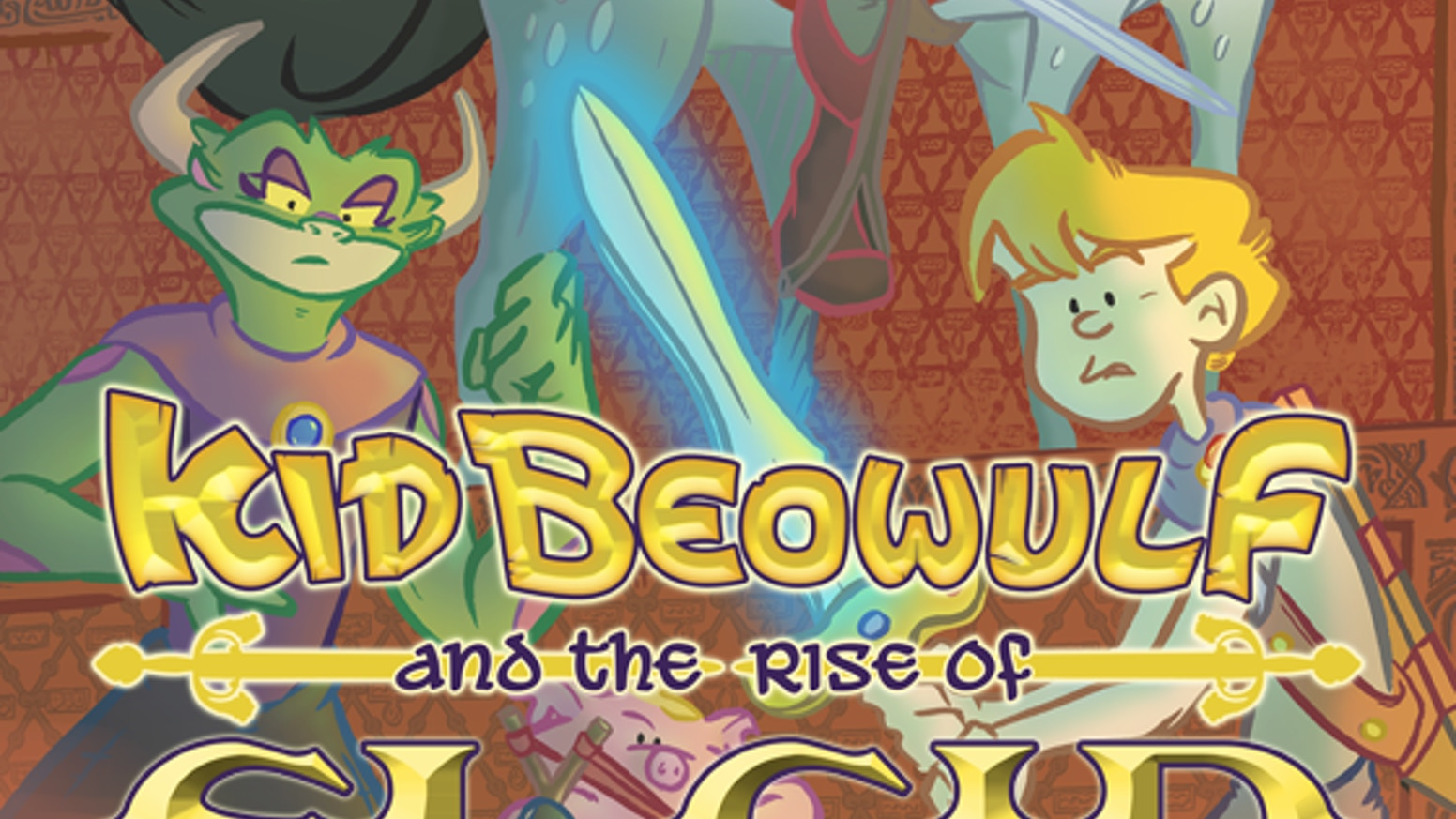 """Kid Beowulf and the Rise of El Cid"" is the third book in the graphic novel adventure series Kid Beowulf!"
