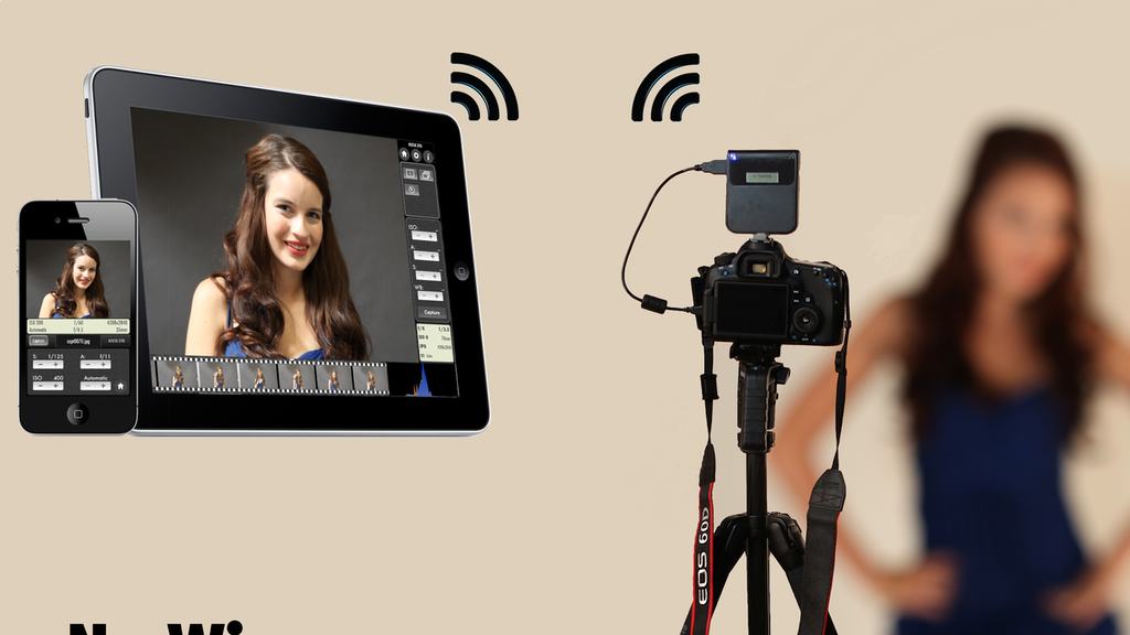 CameraMator: Wireless Tethered Photography project video thumbnail