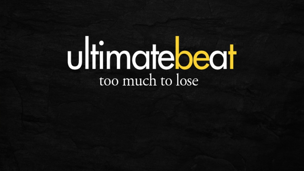 UltimateBeat - too much to lose project video thumbnail