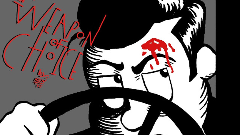 """""""Dewey Delane in Weapon of Choice"""" a Comedy Noir Comic project video thumbnail"""