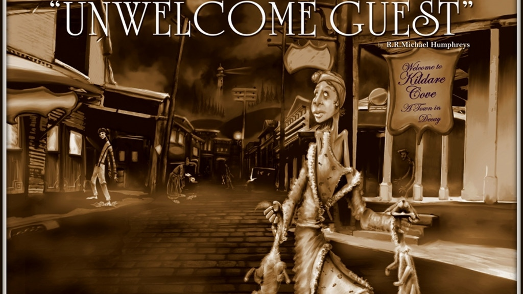 An Unwelcome Guest: a 1930s mystery horror adventure RPG project video thumbnail