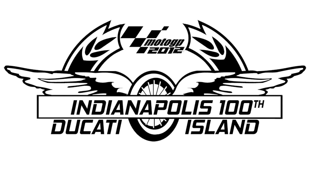 Indianapolis 100th birthday at Ducati Island 2012 MotoGP