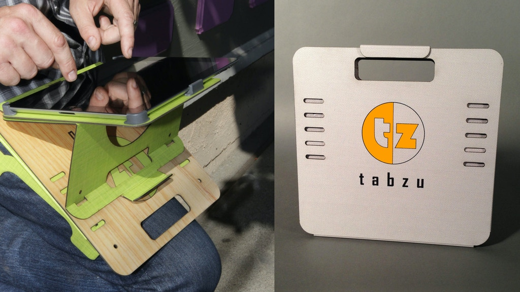 Tabzu: The iPad cradle is in it's LAST HOUR!  Come visit!! project video thumbnail