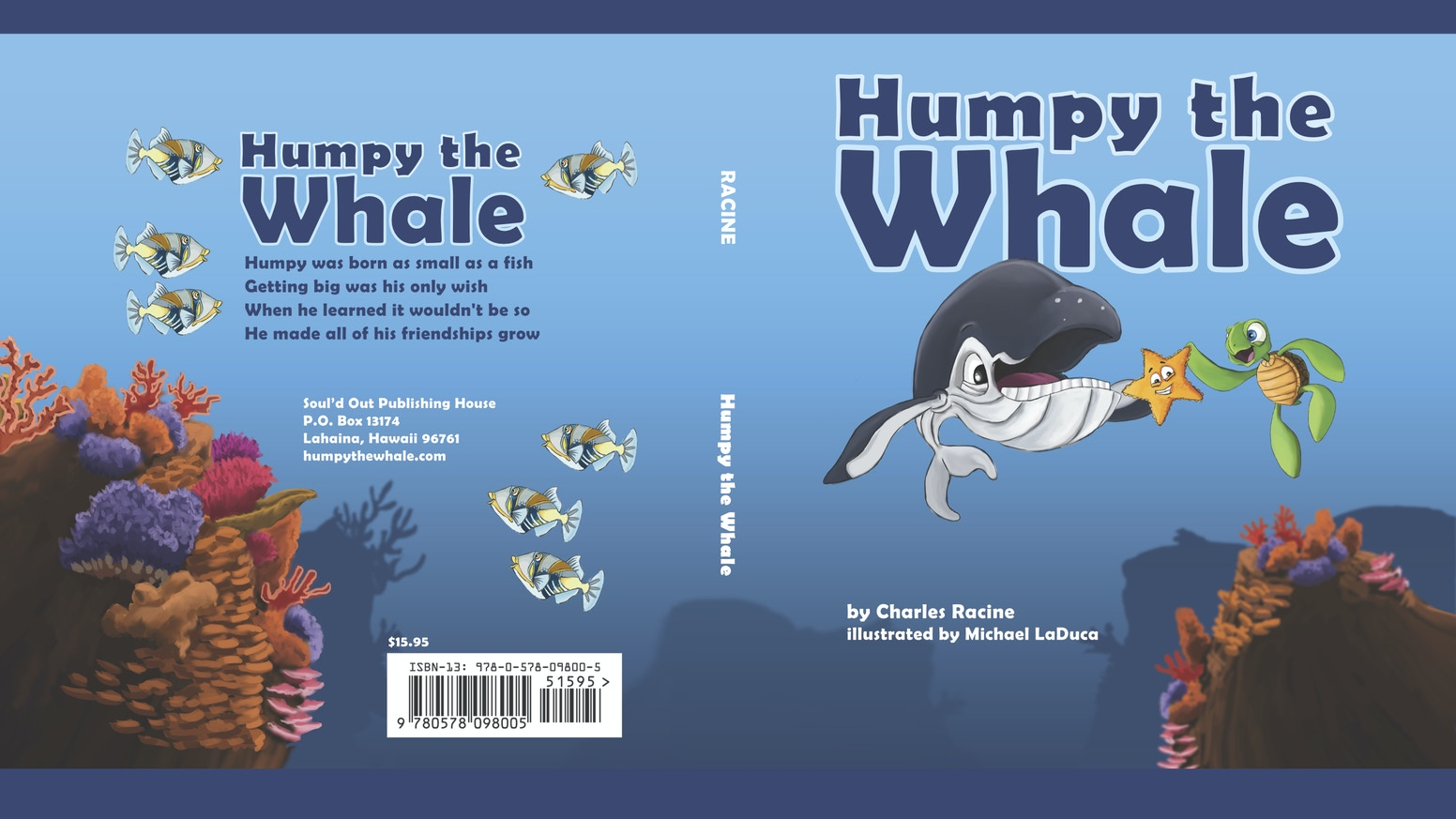 Humpy The Whale By Charles Racine Kickstarter
