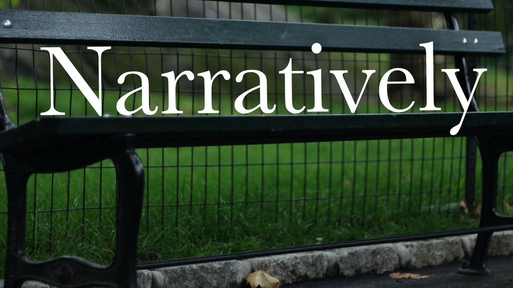 Narratively project video thumbnail