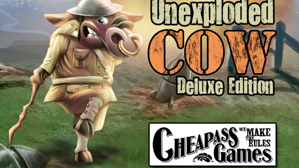 Unexploded Cow from Cheapass Games project video thumbnail
