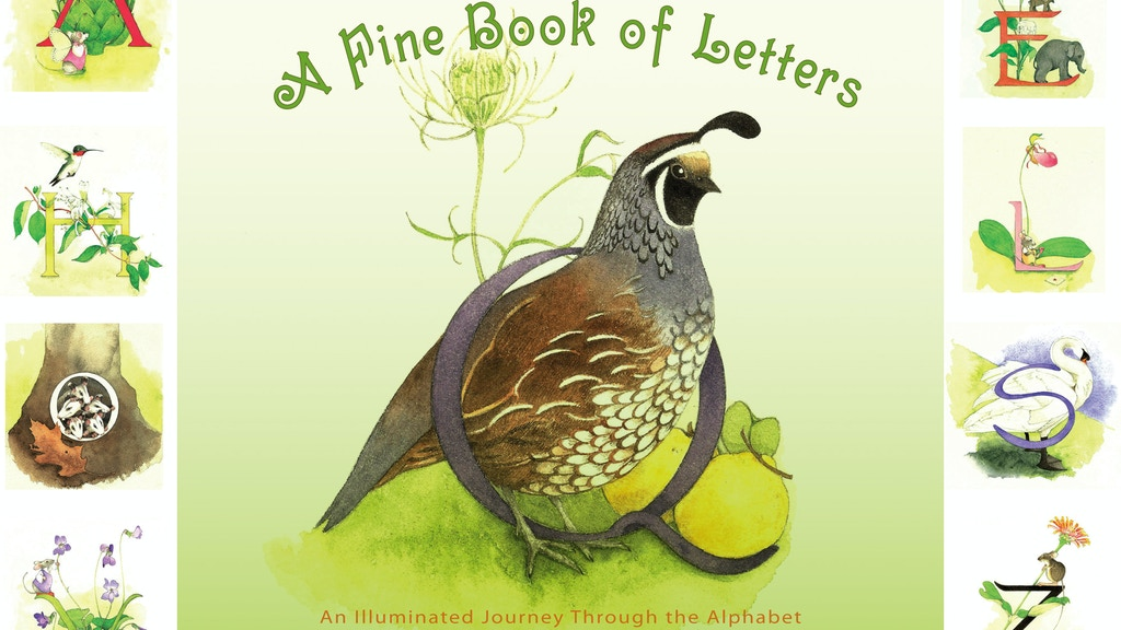 A Fine Book of Letters project video thumbnail