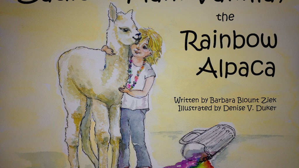 Be a 'Paca Backer:We're Launching Zadie & Her Rainbow Alpaca project video thumbnail