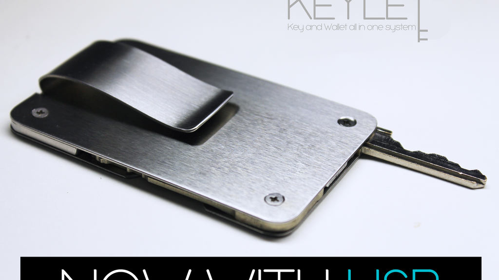 Keylet : A Minimal Key and Wallet All In One System project video thumbnail
