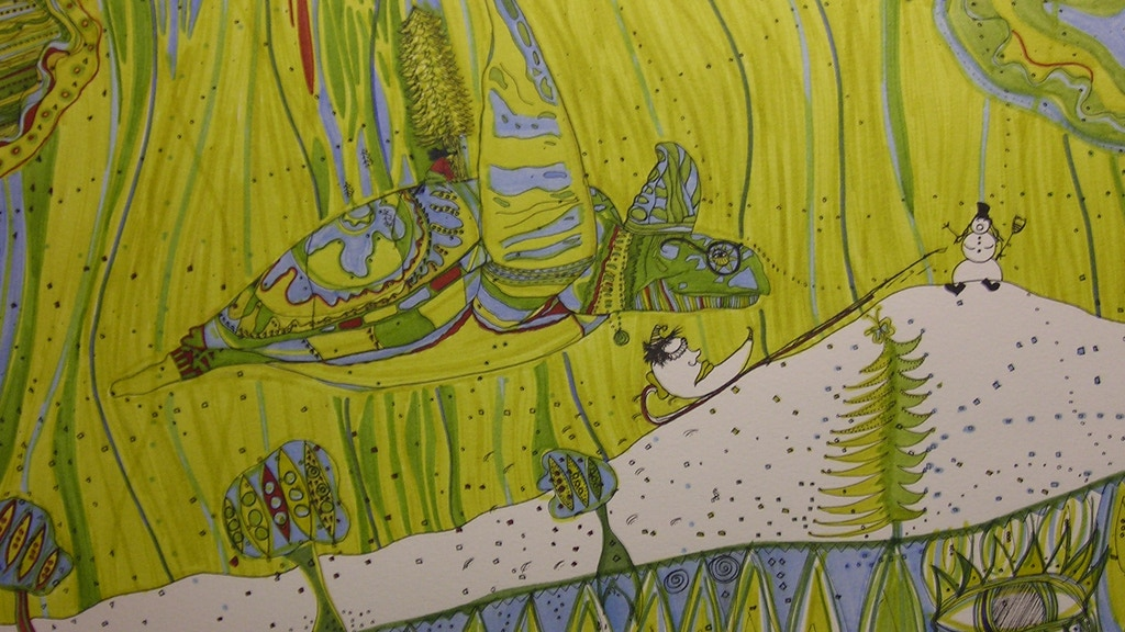 Turtle Magic: A Children's Book in Stained Glass project video thumbnail