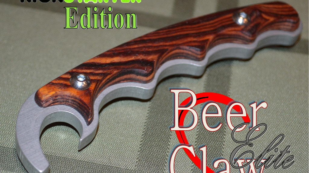 Beer-Claw, A Bottle Opener Project project video thumbnail
