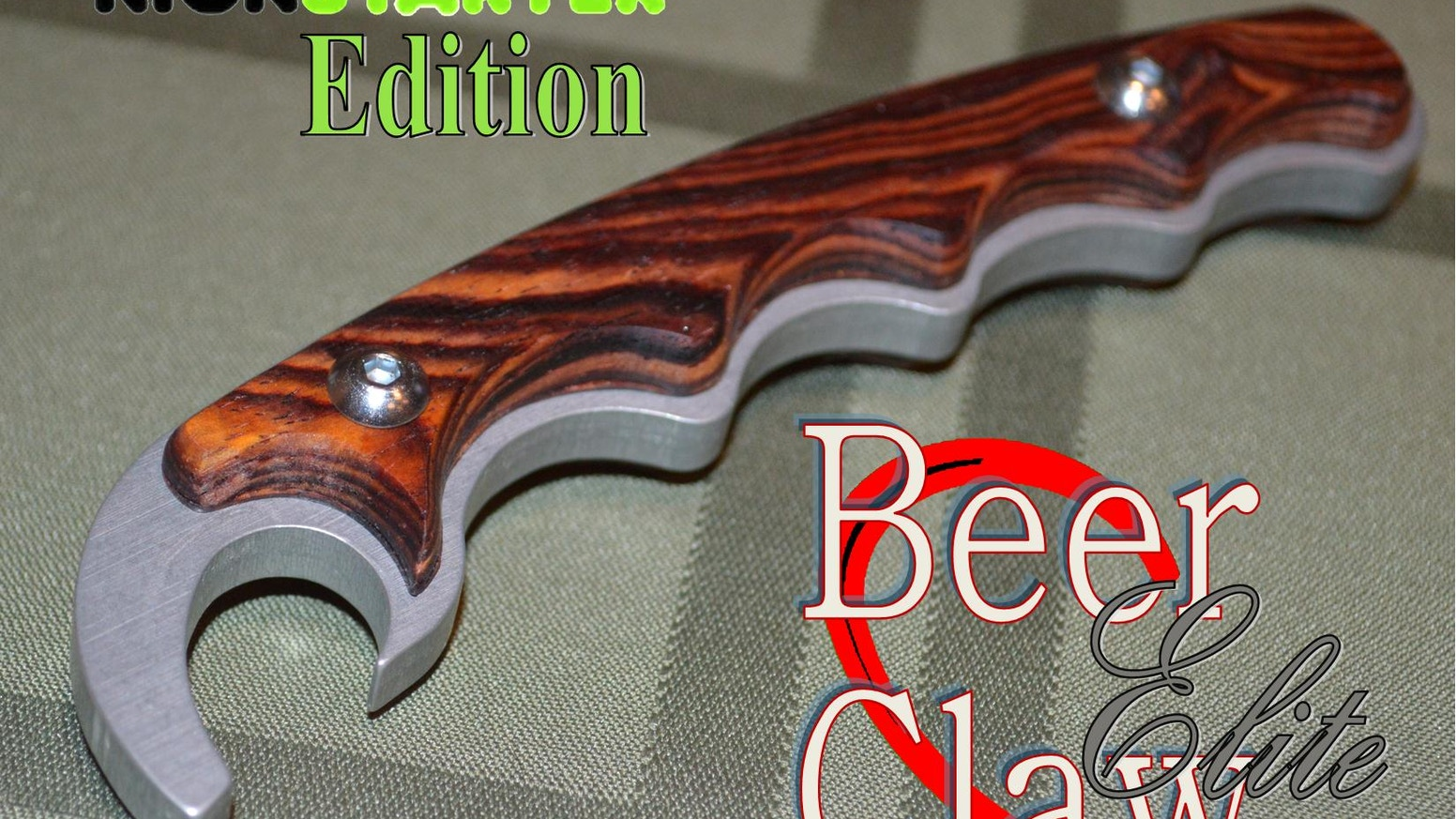 Beer-Claw. The most attractive and ergonomic bottle opener available. Made in America, get yours today! www.instagram.com/thebeerclaw wwww.facebook.com/TheBeerClaw. www.twitter.com/thebeerclaw
