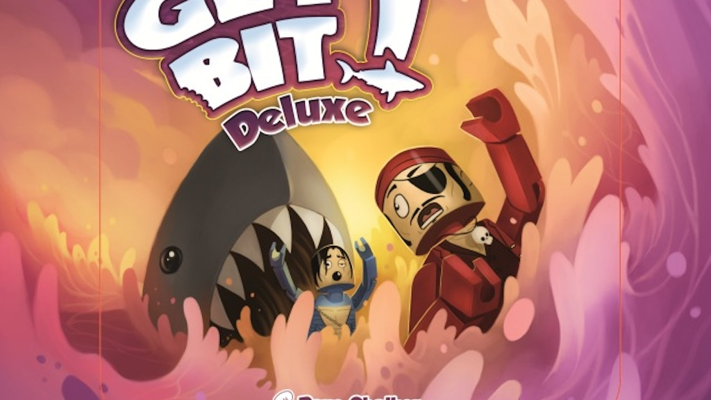 Get Bit! Deluxe Tin Box Set -The Shark/Pirate Card Game! project video thumbnail