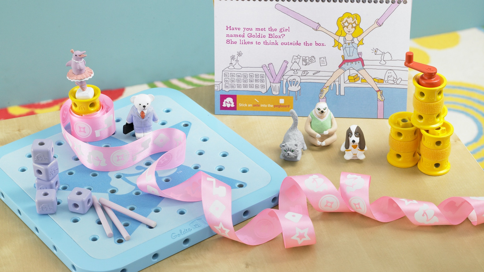 GoldieBlox: The Engineering Toy for Girls by Debbie Sterling ...